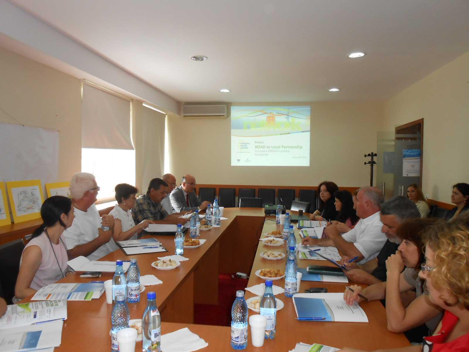 Caravana Enterprise Europe Network în judeţul Constanţa