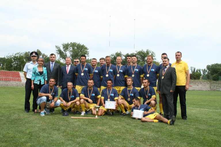 Frontiera Tomis Constanţa a câştigat prima ediţie a campionatul de oină al  Ministerului Afacerilor Interne