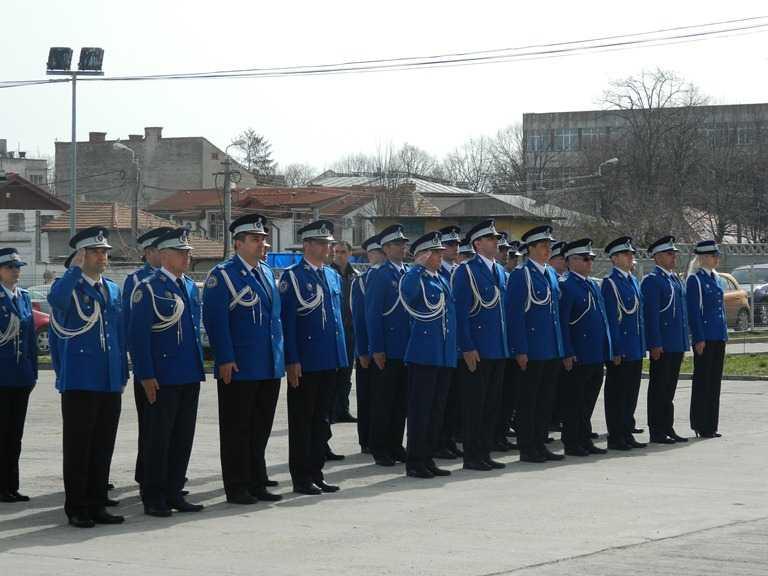 Avansari in grad la Jandarmeria Constanta