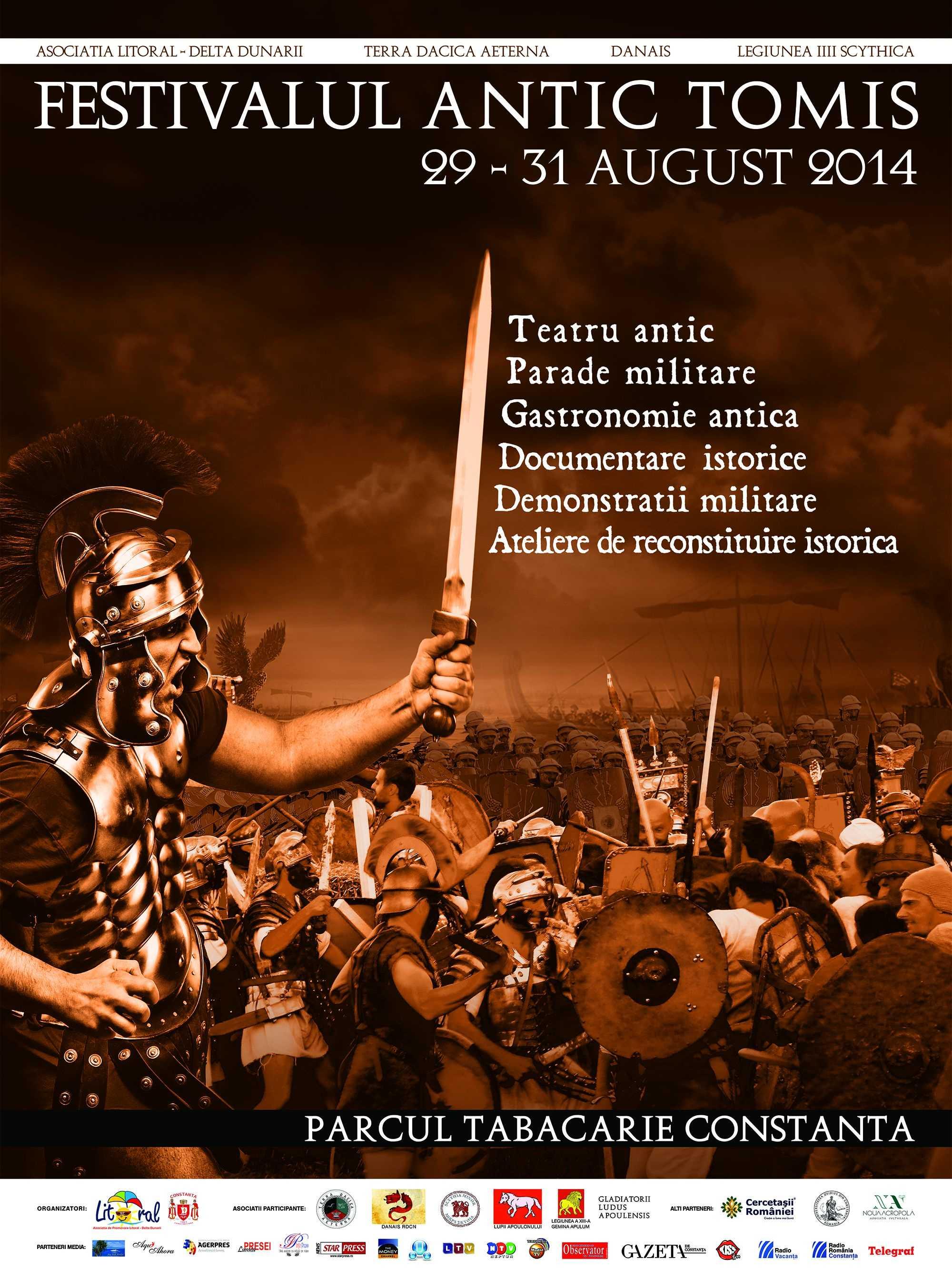 Festivalul Antic Tomis gata de start!