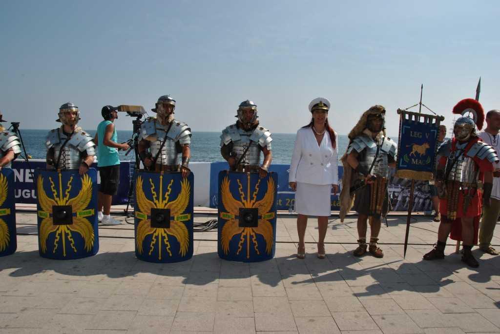 Daci si romani la Zilele Marinei din Constanta