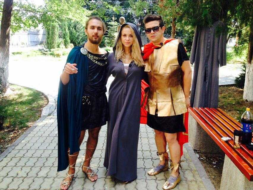 Festivalului Antic Tomis se incheie cu piesa de teatru
