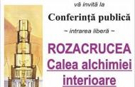 Conferinta publica la Constanta - Rozacrucea, Calea alchimiei interioare