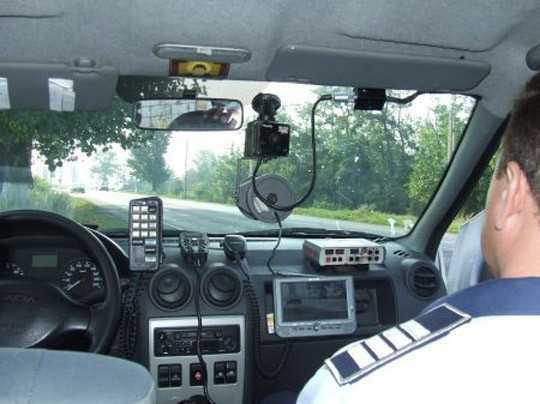 Se monitorizeaza traficul pe Drumul Naţional 1
