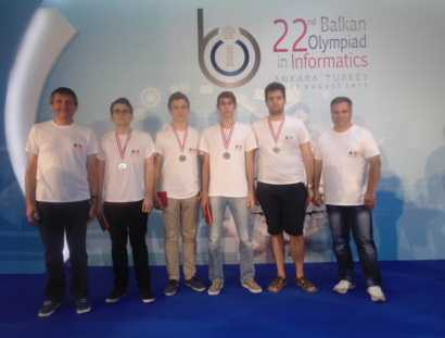 Olimpicii români au cucerit patru medalii la Olimpiada Balcanică de Informatică pentru seniori