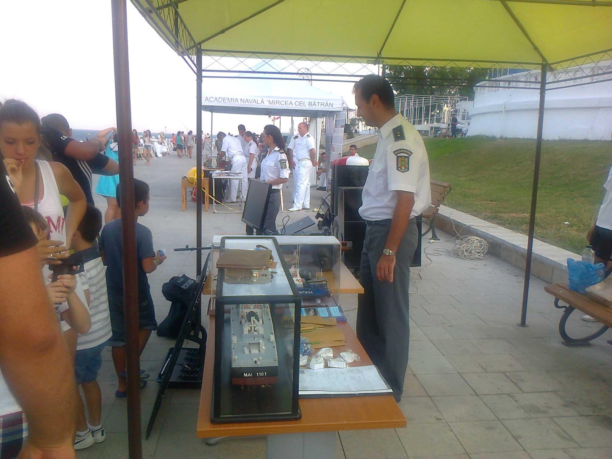 Exerciţii demonstrative pe Marea Neagră de Ziua Marinei Române organizate de Garda de Coasta