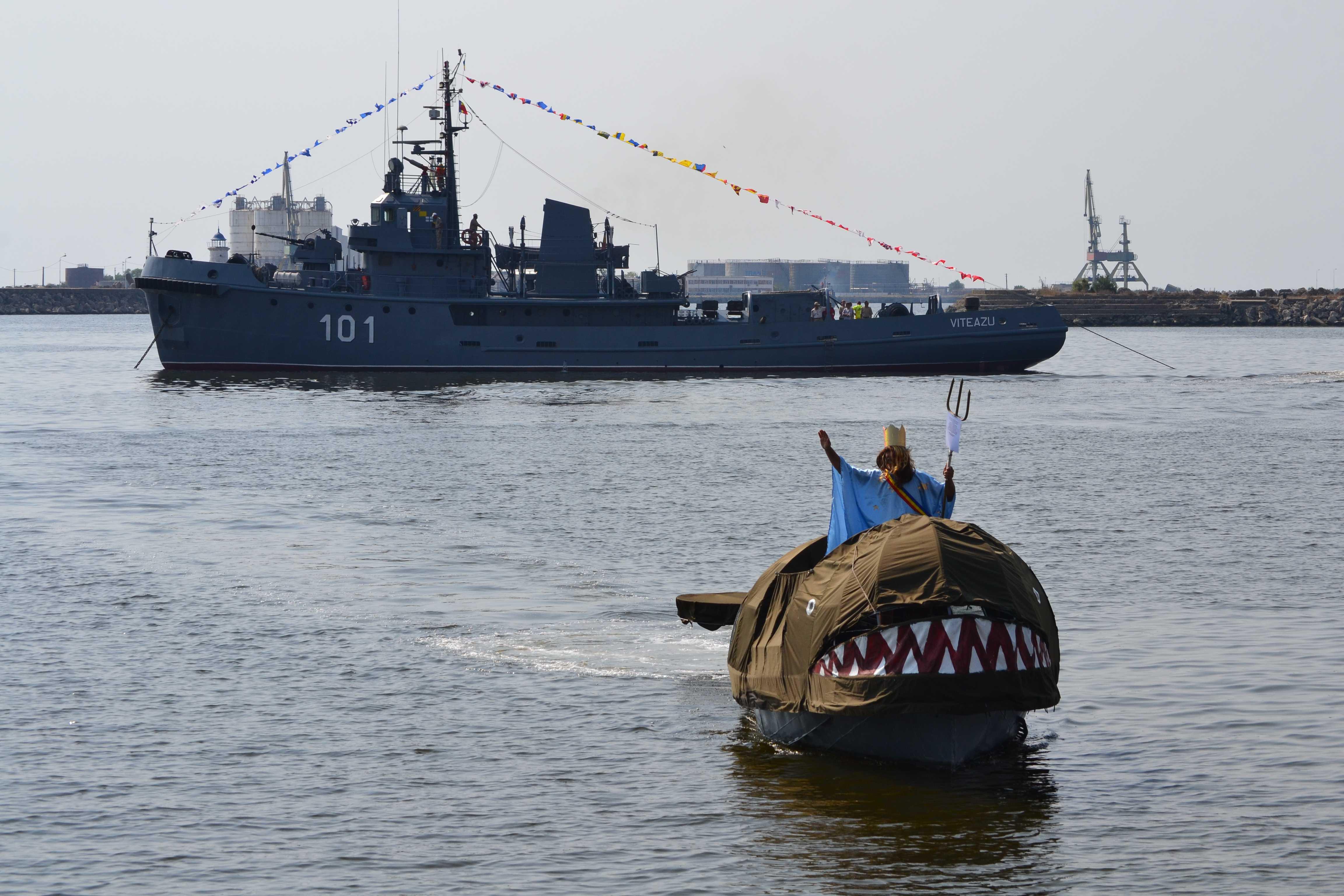 Ziua Marinei sarbatorita la Mangalia