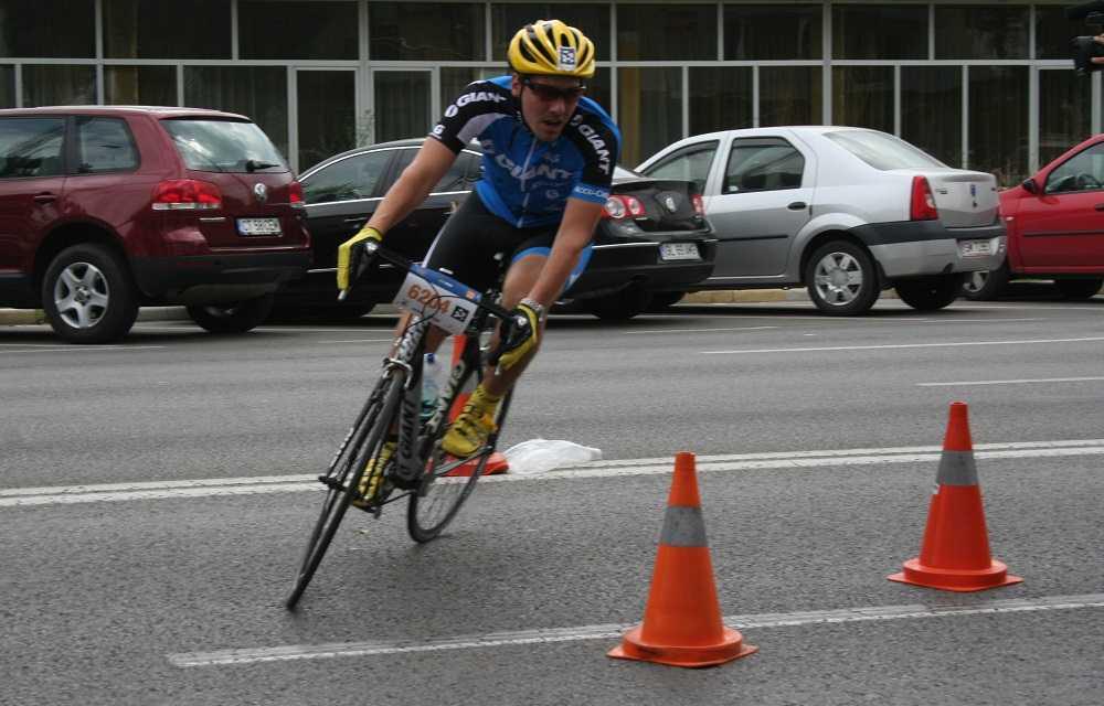 Principele Nicolae al Romaniei la startul  Triathlon Challenge Mamaia