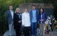 """Asociația Naționala Cultul Eroilor """"Regina Maria"""" au depus coriane de flori la """"Mormântul Militar"""" din Dobrici"""