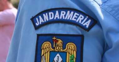 Jandarmii constanteni asigura ordinea publica la meciul de handbal