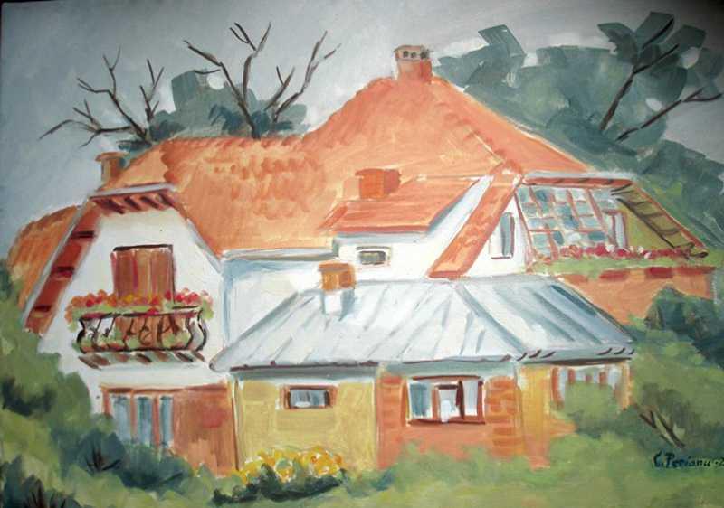 """Expozitie de pictura – """"Jurnal de călătorie"""""""