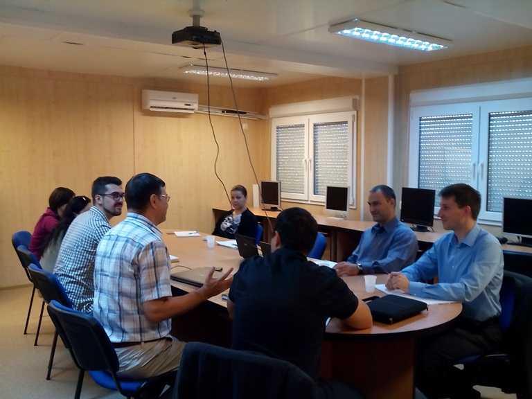 Şedinţa de lucru bilaterală România – Germania la Facultatea Ovidius Constanța