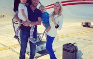 Vezi cine s-a intors in Dubai la bordul unui avion privat!