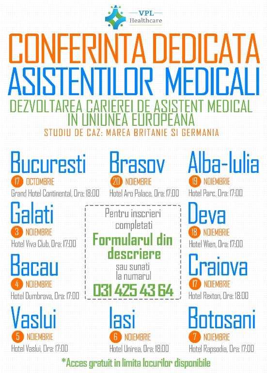 Conferinta Dedicata Asistentilor Medicali
