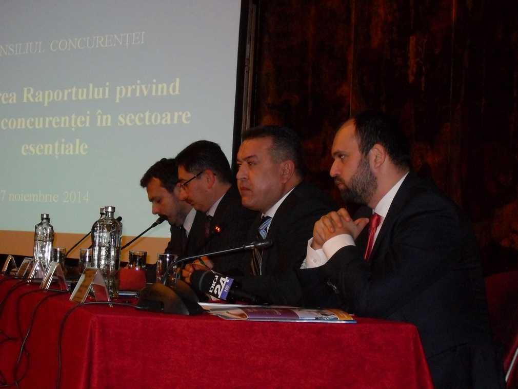 Conferinţa de lansare a Raportului anual asupra concurenţei în sectoarele cheie ale economiei