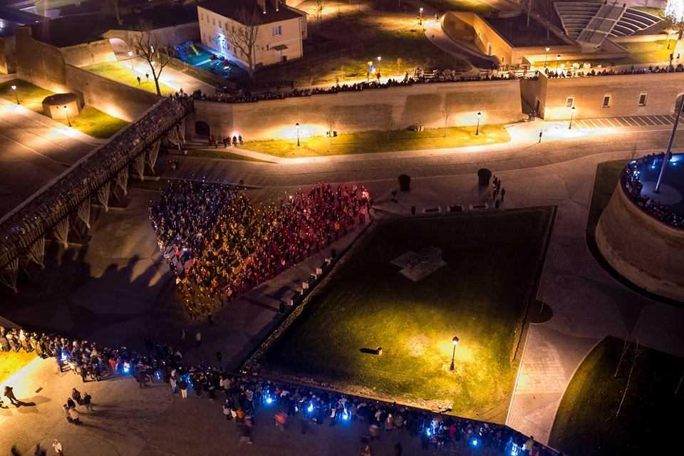 Record de turisti asteptati la Alba Iulia de 1 Decembrie.