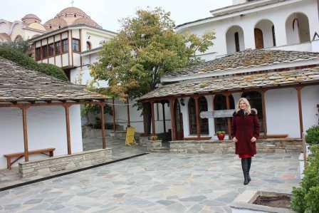 Olga Bălan a vizitat muzeul mătăsii din Soufli-Grecia!