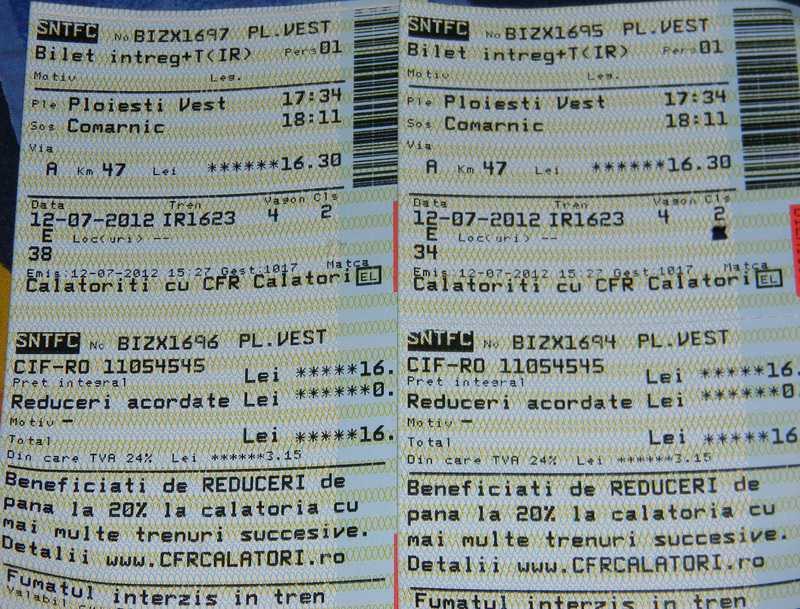 De Dragobete aveti oferta la biletele de tren