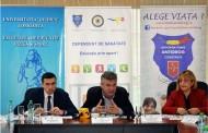 """Asociatia Antidrog Constanta a lansat proiectul """"Dependent de sanatate - Educatie prin sport"""