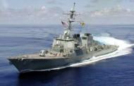 Distrugătorul american USS Cole la Constanţa