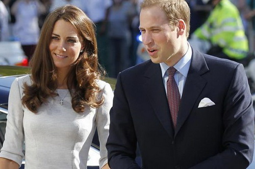 Prințul William și soția sa Catherine au o fetita