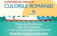 Vapoarele Constanței, pictate în Culorile României!