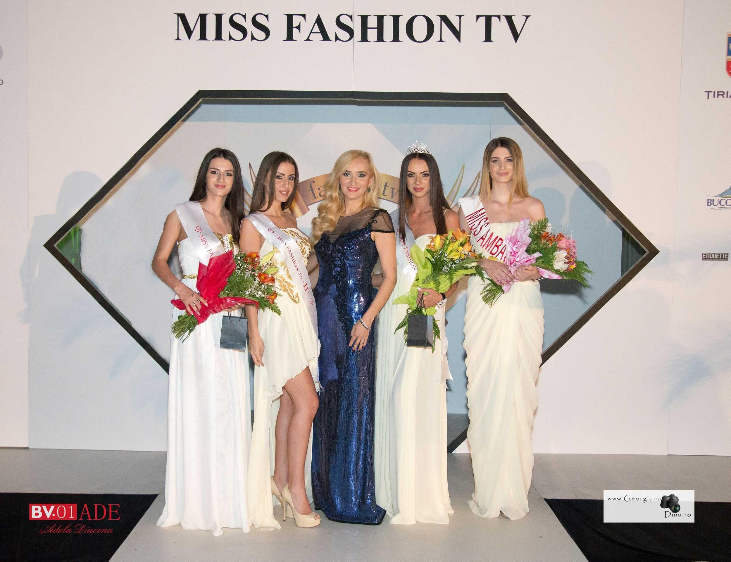 Gabriela Andreea Cușai (18 ani, din București) a fost desemnată Miss FashionTV
