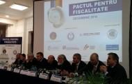 Lansara Pactului pentru Fiscalitate