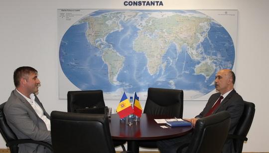 Vizita din Republica Moldova la CCINA Constanta