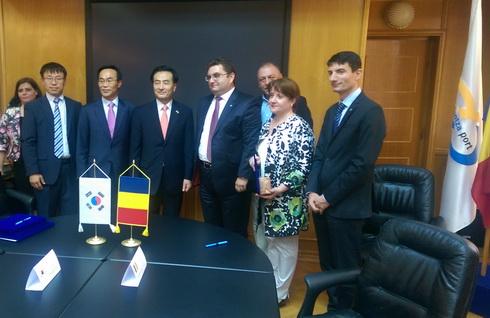 Memorandum de Înțelegere între Ministerul Transporturilor și Ministerul Oceanelor și Pescuitului din Republica Coreea