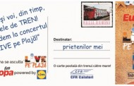 """Cu trenurile CFR Călători la concertul Europa FM  – """"Live pe Plajă"""""""