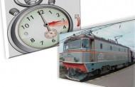 Transportul feroviar de călători trece la ora de iarnă
