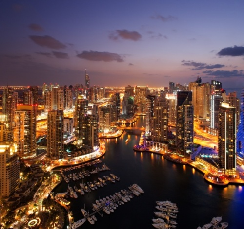 Vacante extravagante in Dubai
