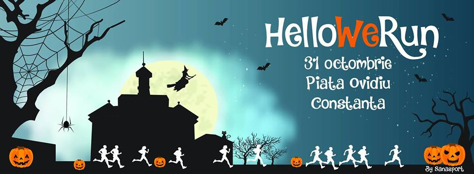 Halloween prin Centrul Vechi al Constantei