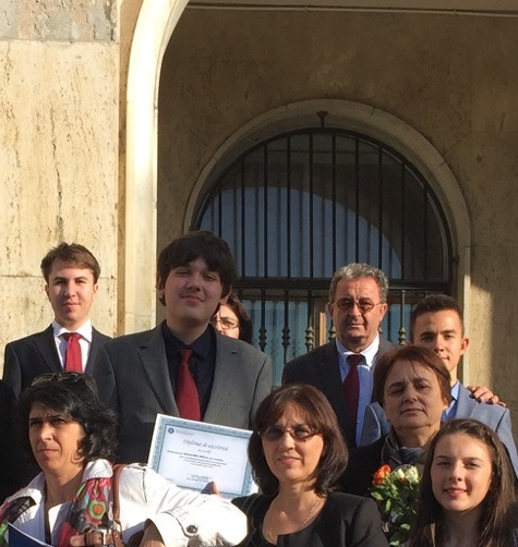 Prof. Ciubotărașu Niculina premiata de Guvern