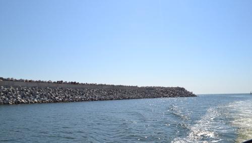 """S-au finalizat lucrările la """"Prelungirea digului de larg al Portului Constanța"""""""