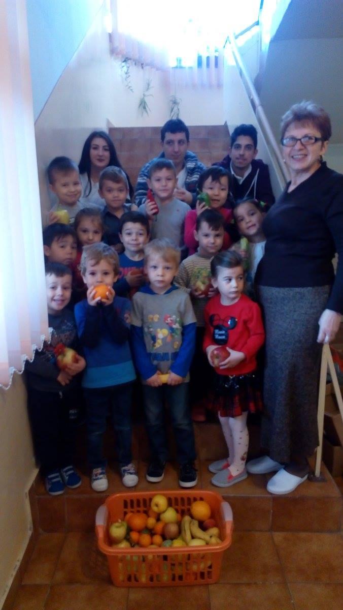Săptămâna fructelor și a legumelor donate la Liceul Teoretic Murfatlar
