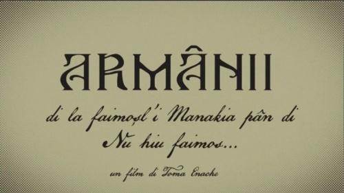 Film documentar despre armâni lansat de regizorul Toma Enache