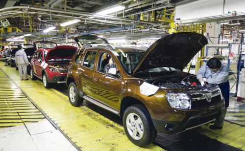Record de vânzări  pentru Compania Automobile Dacia