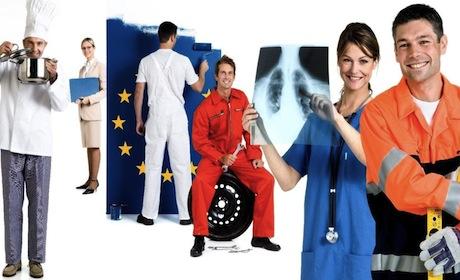 795 de locuri de munca in Spatiul Economic European