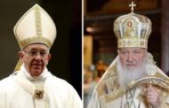 Vatican: Întrevedere istorică între Papa Francisc şi Patriarhul rus Kiril