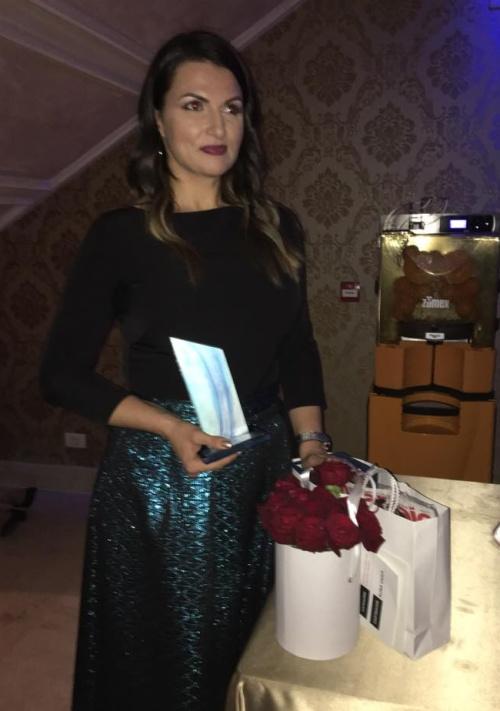Alina Vasea câştigătoarea trofeului Avantaje