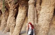 Creatoarea de modă Andreea Dogaru, vacanță la Barcelona pe urmele lui Gaudi!