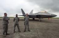 Avionul F-22 Raptor a ajuns la Baza Militară Mihail Kogălniceanu