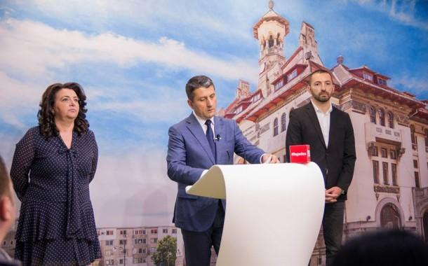 Irinela Nicolae si Liviu Merdinian  au prezentat proiectele in educatie si sanatate