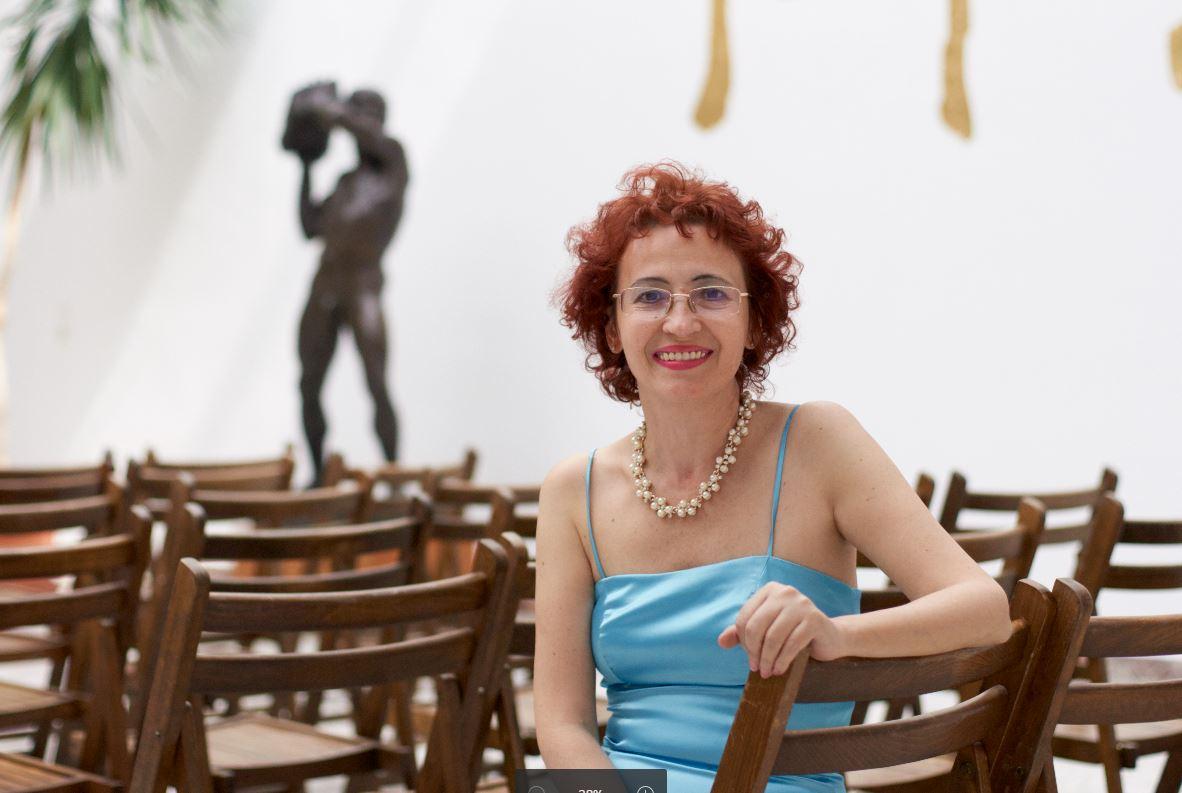 """""""Cerul meu Arcturian""""  - a  șasea carte  a scriitoarei Mihaela Burlacu"""