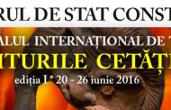 """Programul Festivalului International de Teatru """"Miturile Cetatii"""""""