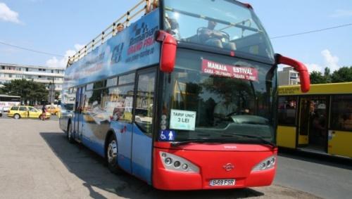 Vacanta de Rusalii aduce autobuzele etajate spre Mamaia