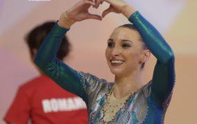 O constanteanca a devenit campioana mondiala la gimnastica aerobica