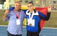 Razvan Grecu medaliat cu bronz la Campionatele Europene de cadeți